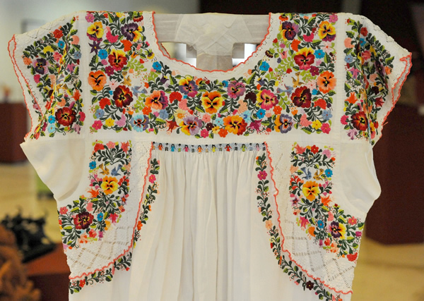 Embroidery mexican faustina sumano garcia