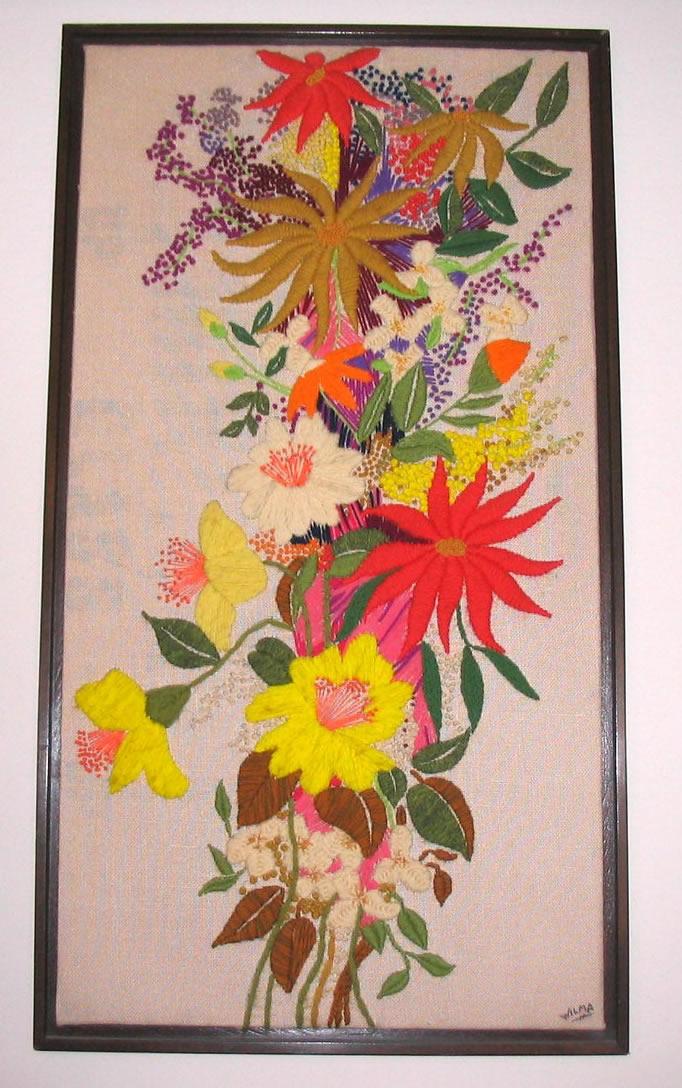 Vintage crewel needlework a gallery « fabulous