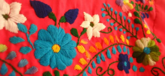 Mexican Embroidery Fabulous Vintage Blog