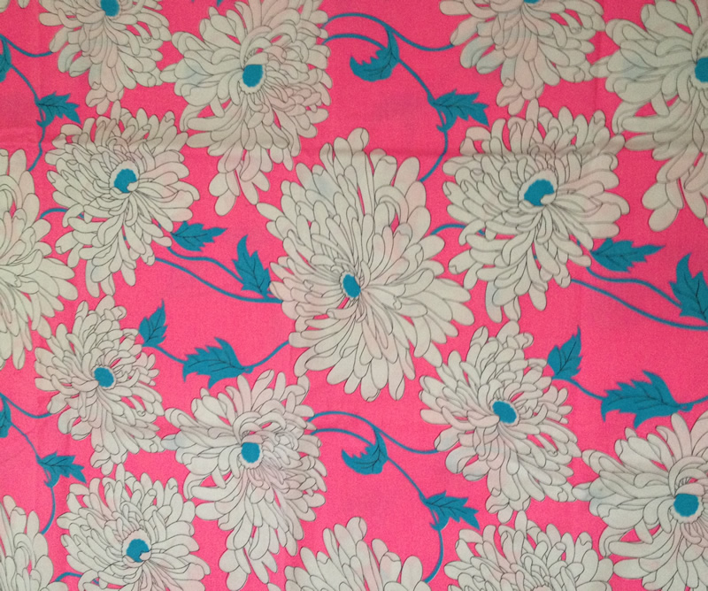 Vintage fabric garage sale finds fabulous vintage blog for Retro fabric