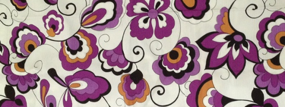 vintage-fabric-purple-mustard-floral