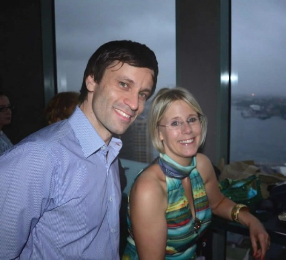 My lovely husband Matt and me. Sydney, Christmas 2011.