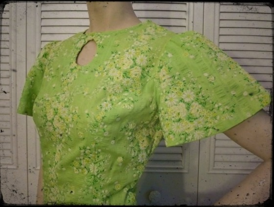 vintage-maxi-dress-spring-green-etsy-2