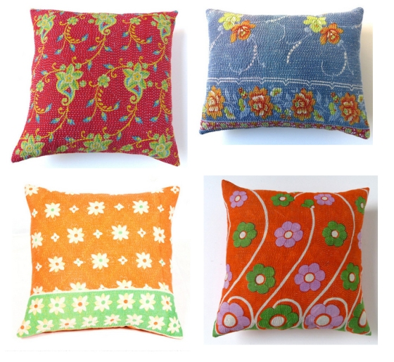 Sally Campbell Vintage Textiles - Cushions