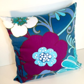 Funky Fabrix Vintage Fabric Cushion