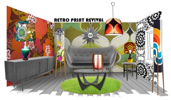 Retro Print Revival vintage lamps are all one of a kind.
