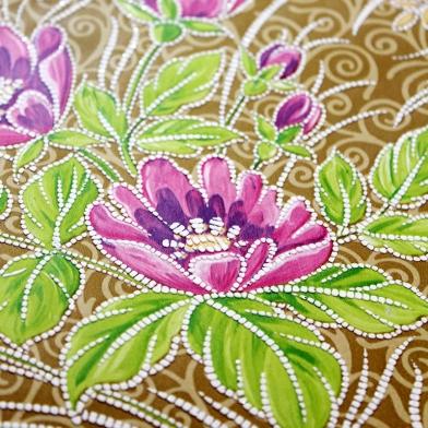 vintage-wallpaper-gold-green-blue-pink-floral-2